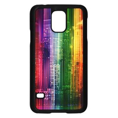 Skyline Light Rays Gloss Upgrade Samsung Galaxy S5 Case (black)