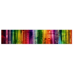 Skyline Light Rays Gloss Upgrade Small Flano Scarf by Nexatart