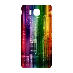 Skyline Light Rays Gloss Upgrade Samsung Galaxy Alpha Hardshell Back Case
