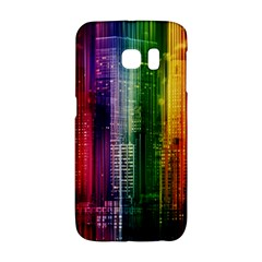 Skyline Light Rays Gloss Upgrade Samsung Galaxy S6 Edge Hardshell Case