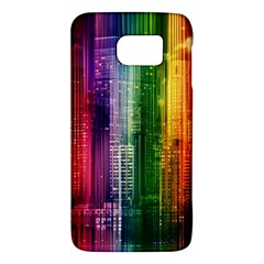 Skyline Light Rays Gloss Upgrade Samsung Galaxy S6 Hardshell Case