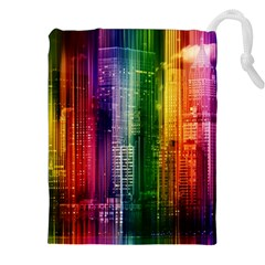 Skyline Light Rays Gloss Upgrade Drawstring Pouch (xxl)