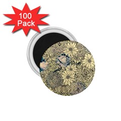Abstract Art Artistic Botanical 1 75  Magnets (100 Pack)