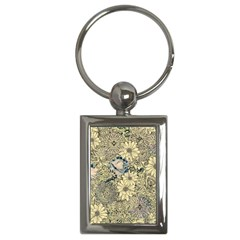Abstract Art Artistic Botanical Key Chains (rectangle)