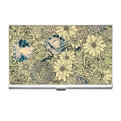 Abstract Art Artistic Botanical Business Card Holder