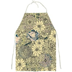 Abstract Art Artistic Botanical Full Print Aprons
