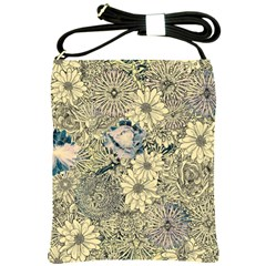 Abstract Art Artistic Botanical Shoulder Sling Bag