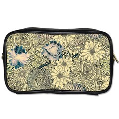 Abstract Art Artistic Botanical Toiletries Bag (two Sides)