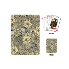 Abstract Art Artistic Botanical Playing Cards (mini)