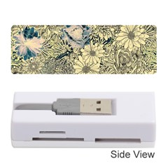 Abstract Art Artistic Botanical Memory Card Reader (stick) by Nexatart