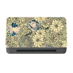 Abstract Art Artistic Botanical Memory Card Reader With Cf by Nexatart