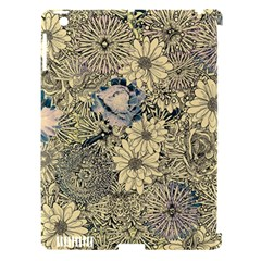 Abstract Art Artistic Botanical Apple Ipad 3/4 Hardshell Case (compatible With Smart Cover)