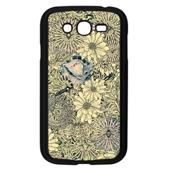 Abstract Art Artistic Botanical Samsung Galaxy Grand Duos I9082 Case (black)