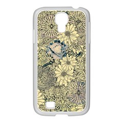 Abstract Art Artistic Botanical Samsung Galaxy S4 I9500/ I9505 Case (white)