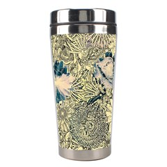 Abstract Art Artistic Botanical Stainless Steel Travel Tumblers