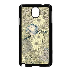 Abstract Art Artistic Botanical Samsung Galaxy Note 3 Neo Hardshell Case (black)
