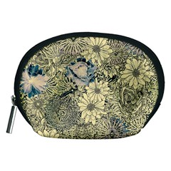 Abstract Art Artistic Botanical Accessory Pouch (medium)
