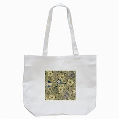 Abstract Art Artistic Botanical Tote Bag (white)