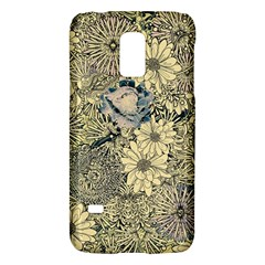 Abstract Art Artistic Botanical Samsung Galaxy S5 Mini Hardshell Case