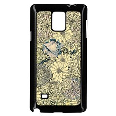 Abstract Art Artistic Botanical Samsung Galaxy Note 4 Case (black)