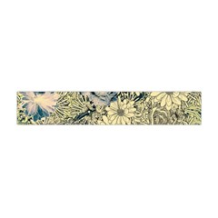 Abstract Art Artistic Botanical Flano Scarf (mini)