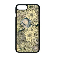 Abstract Art Artistic Botanical Apple Iphone 7 Plus Seamless Case (black)