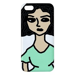 Angry Girl Iphone 5s/ Se Premium Hardshell Case