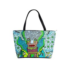 Cosmic Planet Angel Classic Shoulder Handbag