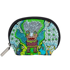 Cosmic Planet Angel Accessory Pouch (small)