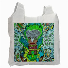 Cosmic Planet Angel Recycle Bag (two Side)