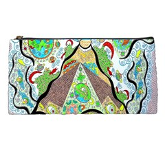 Cosmic Pyramid Pencil Cases by chellerayartisans