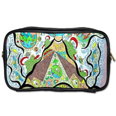 Cosmic Pyramid Toiletries Bag (two Sides) by chellerayartisans