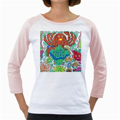 Ocalafish Girly Raglan