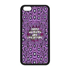 Forest Of Climbing Flowers And Life Is Fine Apple Iphone 5c Seamless Case (black) by pepitasart