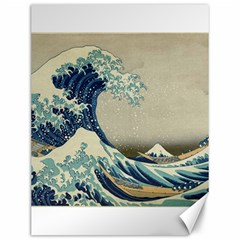 The Classic Japanese Great Wave Off Kanagawa By Hokusai Canvas 12  X 16  by PodArtist