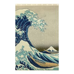 The Classic Japanese Great Wave Off Kanagawa By Hokusai Shower Curtain 48  X 72  (small)  by PodArtist