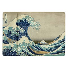 The Classic Japanese Great Wave Off Kanagawa By Hokusai Samsung Galaxy Tab 10 1  P7500 Flip Case