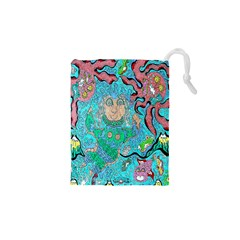 Mesmerizing Mermaid Drawstring Pouch (xs)