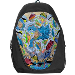 Angel Mermaids Backpack Bag by chellerayartisans