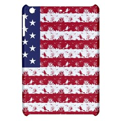 Usa Flag Halloween Holiday Nightmare Stripes Apple Ipad Mini Hardshell Case by PodArtist