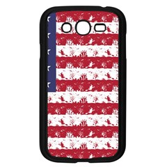 Usa Flag Halloween Holiday Nightmare Stripes Samsung Galaxy Grand Duos I9082 Case (black) by PodArtist