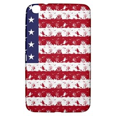 Usa Flag Halloween Holiday Nightmare Stripes Samsung Galaxy Tab 3 (8 ) T3100 Hardshell Case  by PodArtist