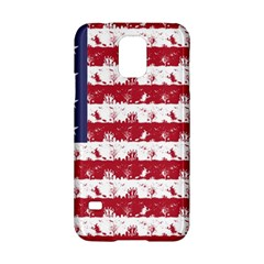 Usa Flag Halloween Holiday Nightmare Stripes Samsung Galaxy S5 Hardshell Case  by PodArtist