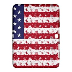 Usa Flag Halloween Holiday Nightmare Stripes Samsung Galaxy Tab 4 (10 1 ) Hardshell Case  by PodArtist