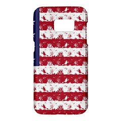 Usa Flag Halloween Holiday Nightmare Stripes Samsung Galaxy S7 Hardshell Case  by PodArtist