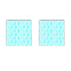 Aqua Blue Colored Waikiki Surfboards  Cufflinks (square) by PodArtist