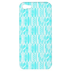 Aqua Blue Colored Waikiki Surfboards  Apple Iphone 5 Hardshell Case by PodArtist