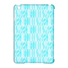 Aqua Blue Colored Waikiki Surfboards  Apple Ipad Mini Hardshell Case (compatible With Smart Cover) by PodArtist