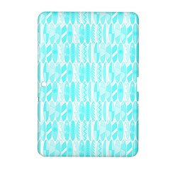 Aqua Blue Colored Waikiki Surfboards  Samsung Galaxy Tab 2 (10 1 ) P5100 Hardshell Case  by PodArtist
