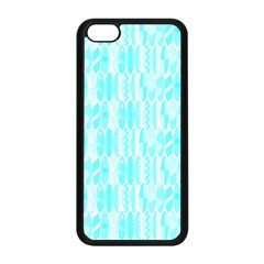 Aqua Blue Colored Waikiki Surfboards  Apple Iphone 5c Seamless Case (black) by PodArtist